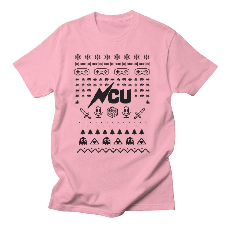 8-Bit Holiday Sweater Men's Regular T-Shirt by The Nerd Collaborative Universe