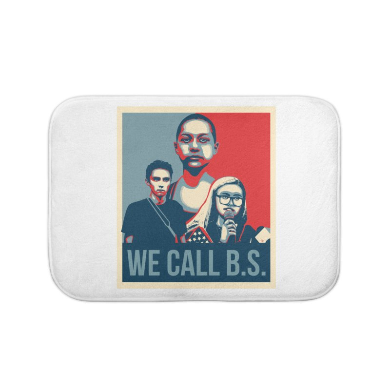 We Call B.S. Home Bath Mat by The Nerd Collaborative Universe