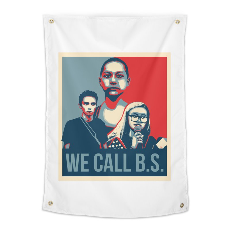 We Call B.S. Home Tapestry by The Nerd Collaborative Universe