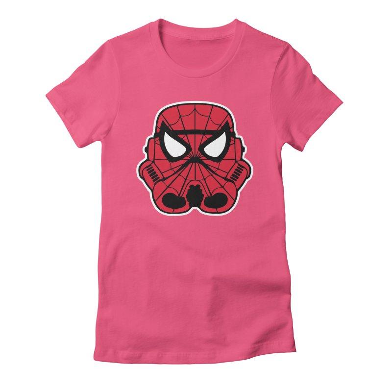 Spider-Trooper Women's T-Shirt by nerdmost's Artist Shop