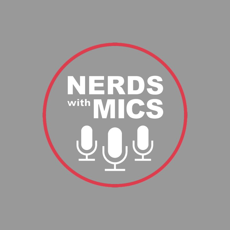 Nerds with Mics Logo Men's T-Shirt by Nerds with Mics Official Store