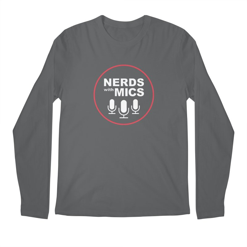 Nerds with Mics Logo Men's Regular Longsleeve T-Shirt by Nerds with Mics Official Store
