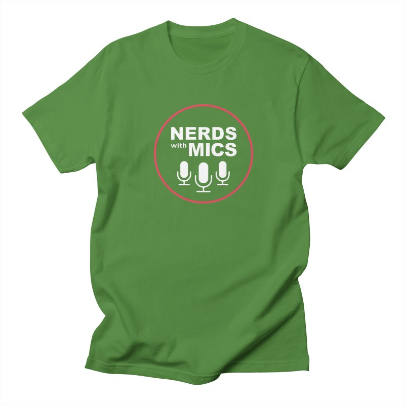 Nerds with Mics Logo Women's Regular Unisex T-Shirt by Nerds with Mics Official Store