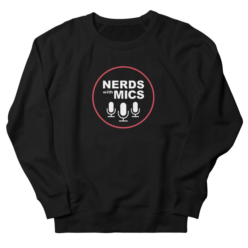 Nerds with Mics Logo Women's French Terry Sweatshirt by Nerds with Mics Official Store