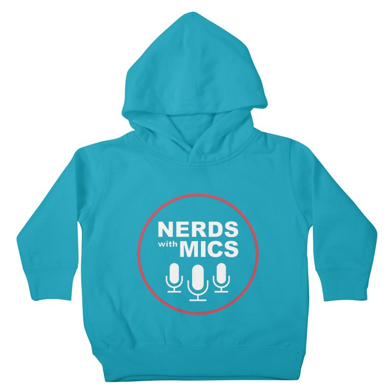 Nerds with Mics Logo Kids Toddler Pullover Hoody by Nerds with Mics Official Store
