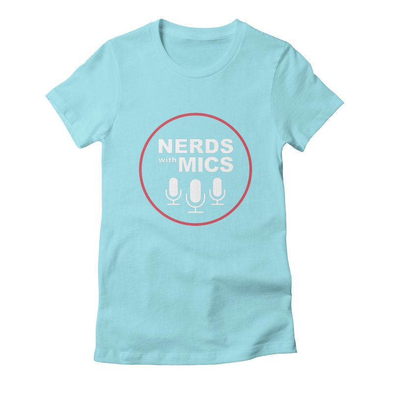Nerds with Mics Logo Women's Fitted T-Shirt by Nerds with Mics Official Store