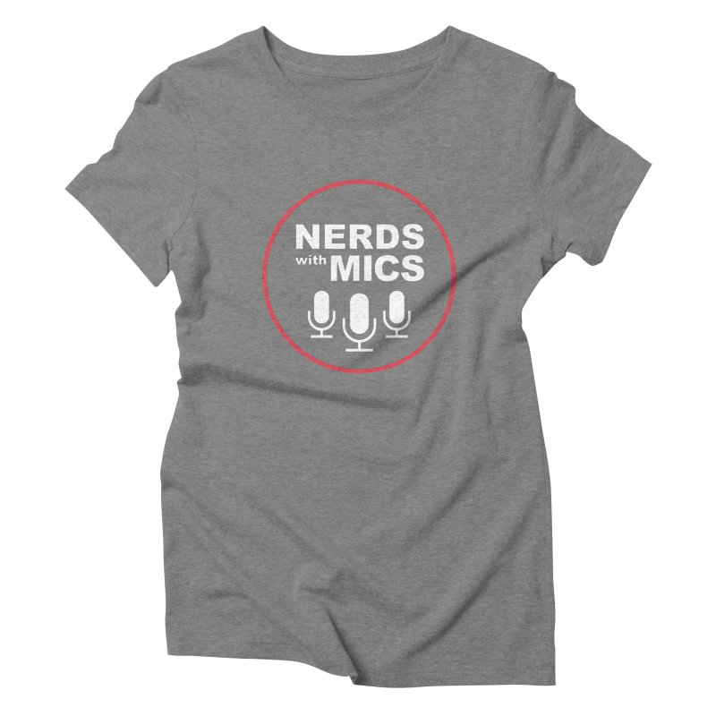 Nerds with Mics Logo Women's Triblend T-Shirt by Nerds with Mics Official Store