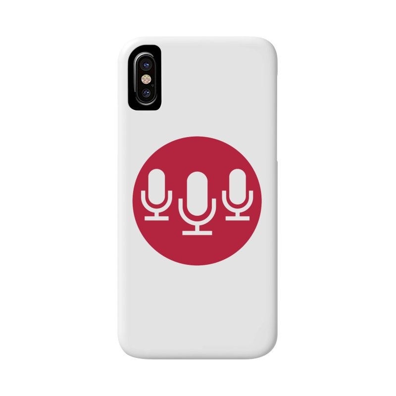Red Circle Logo Accessories Phone Case by Nerds with Mics Official Store