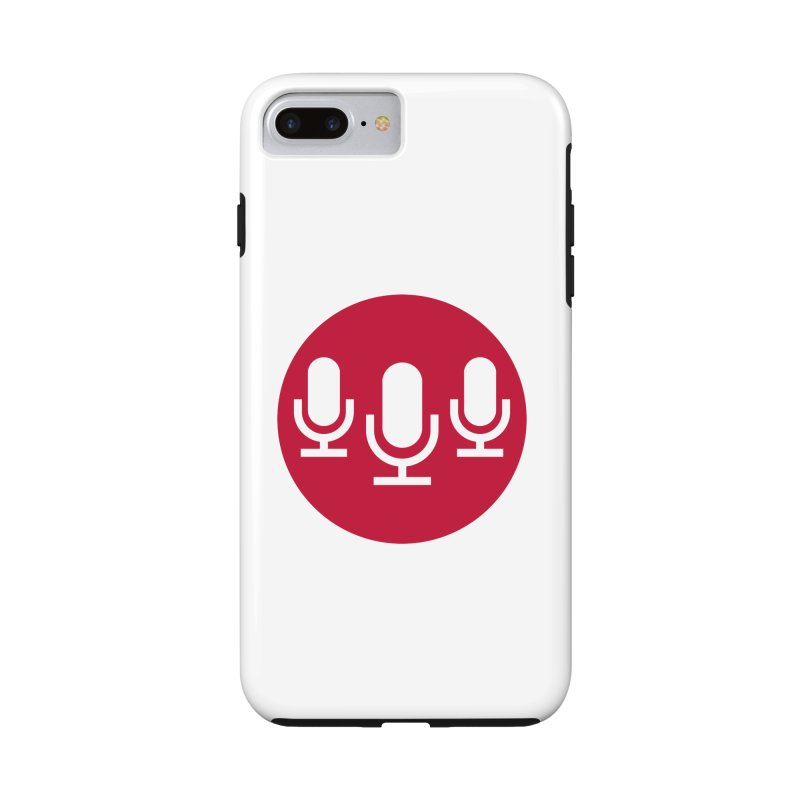 Red Circle Logo in iPhone 7 Plus Phone Case Tough by Nerds with Mics Official Store
