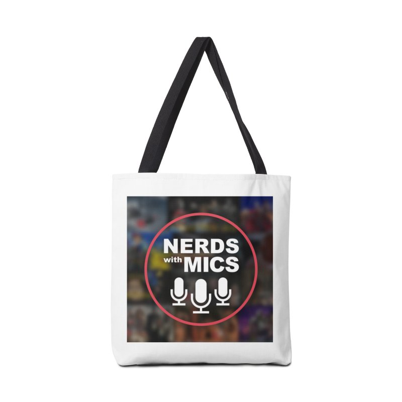 Collage Logo Accessories Bag by Nerds with Mics Official Store