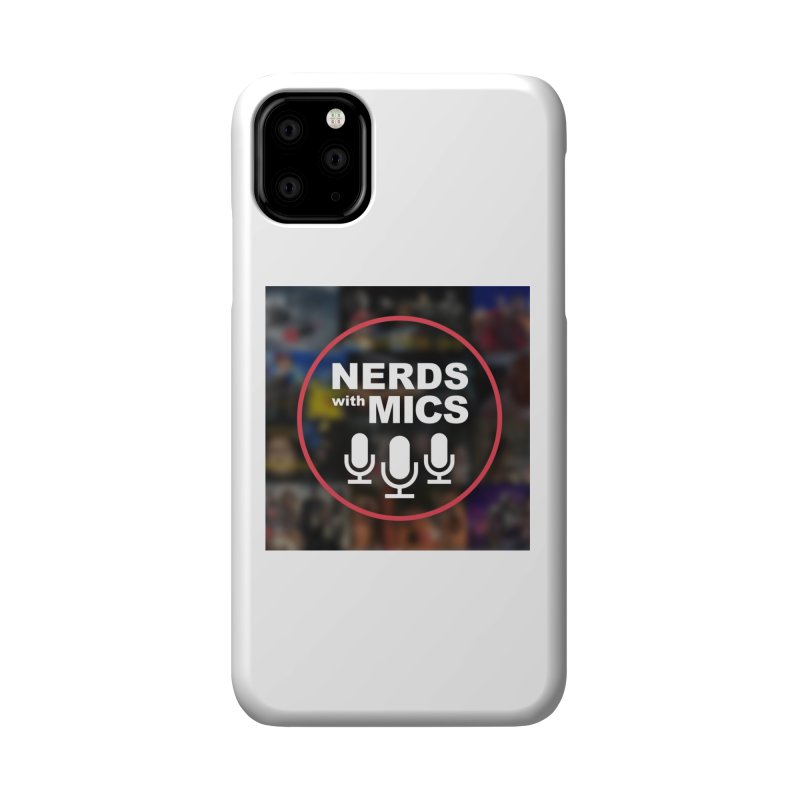 Collage Logo Accessories Phone Case by Nerds with Mics Official Store