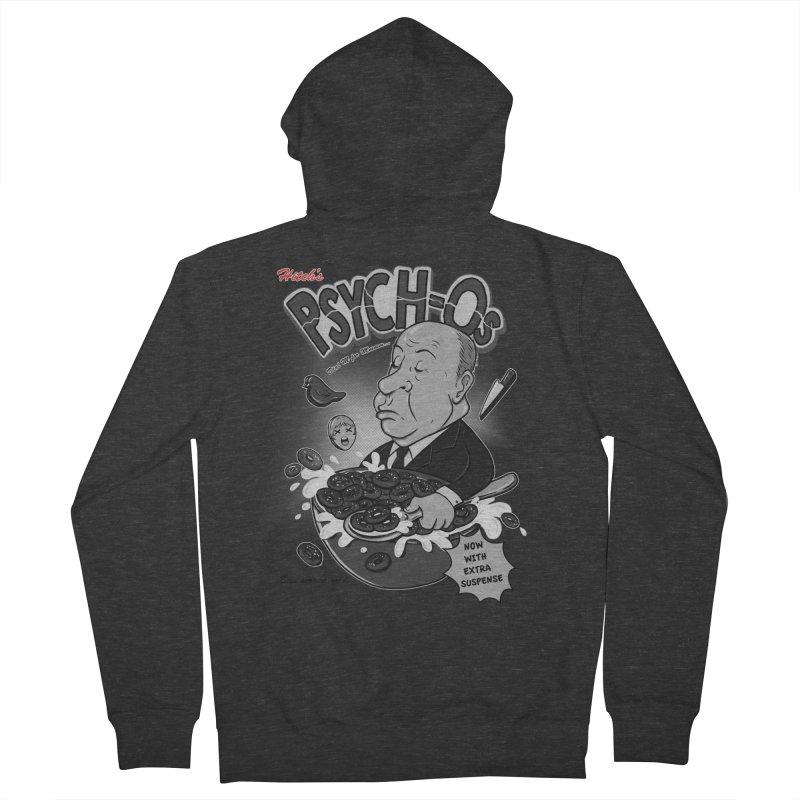 PSYCH-Os  Men's Zip-Up Hoody by nerdvana's Artist Shop