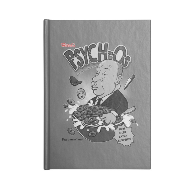 PSYCH-Os  Accessories Notebook by nerdvana's Artist Shop