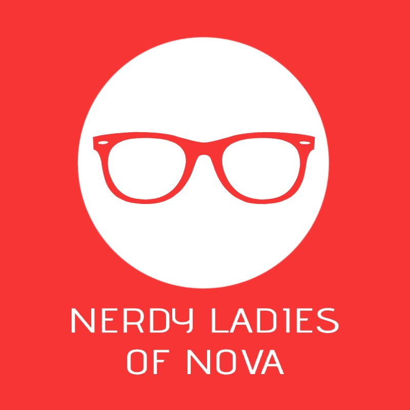 Nerdy Ladies of NOVA Women's V-Neck by The Nerdy Ladies of Nova Nerdy Merch Shop