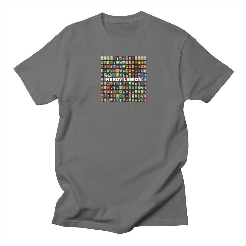 Nerdy Legion Men's T-Shirt by Nerdy Legion Shop
