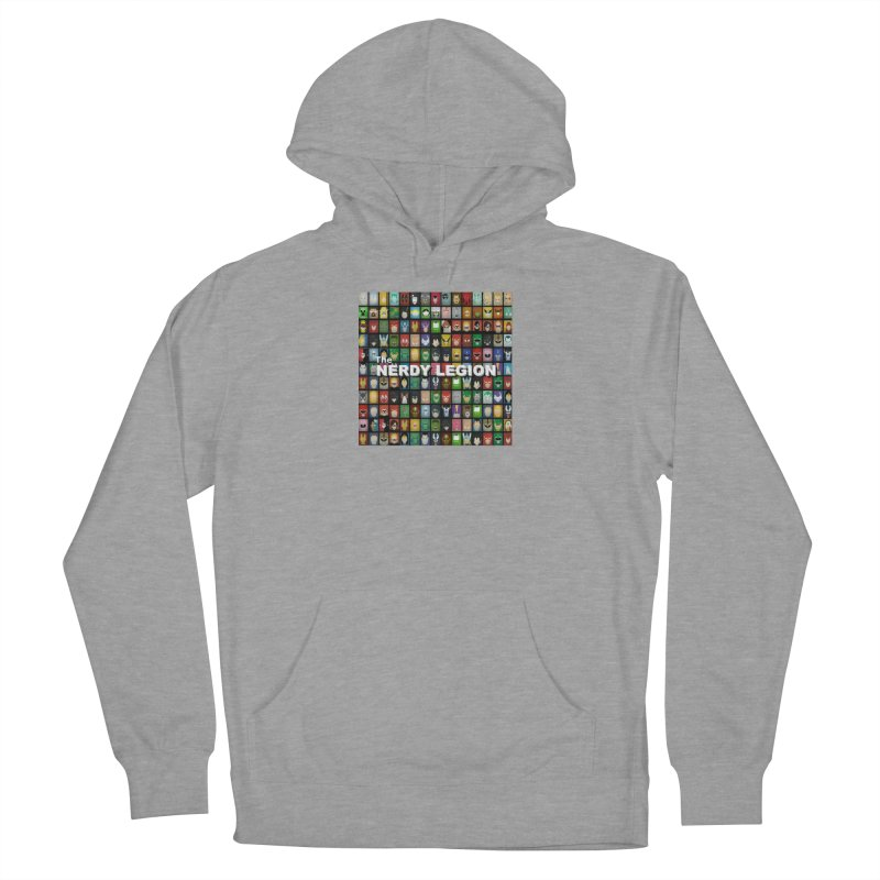 Nerdy Legion Men's French Terry Pullover Hoody by Nerdy Legion Shop
