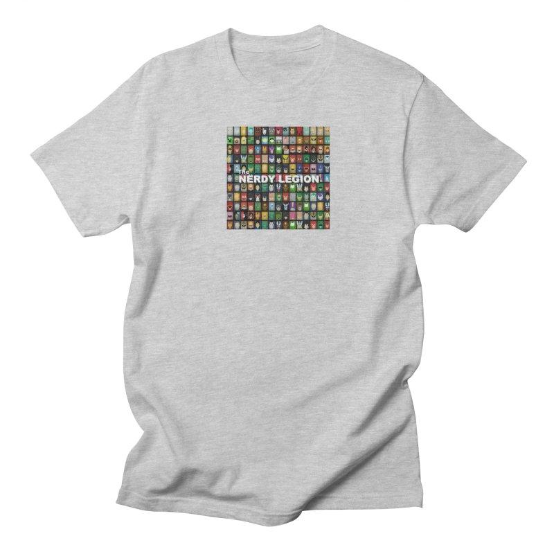 Nerdy Legion Men's Regular T-Shirt by Nerdy Legion Shop