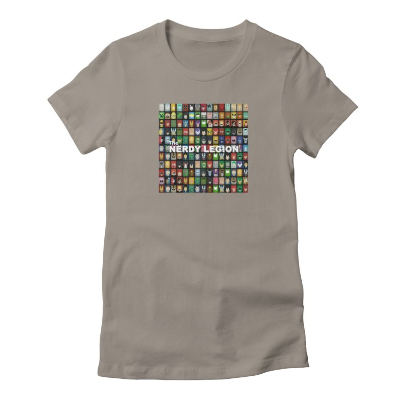 Nerdy Legion Women's T-Shirt by Nerdy Legion Shop