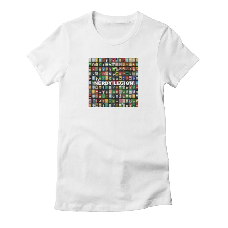 Nerdy Legion Women's Fitted T-Shirt by Nerdy Legion Shop