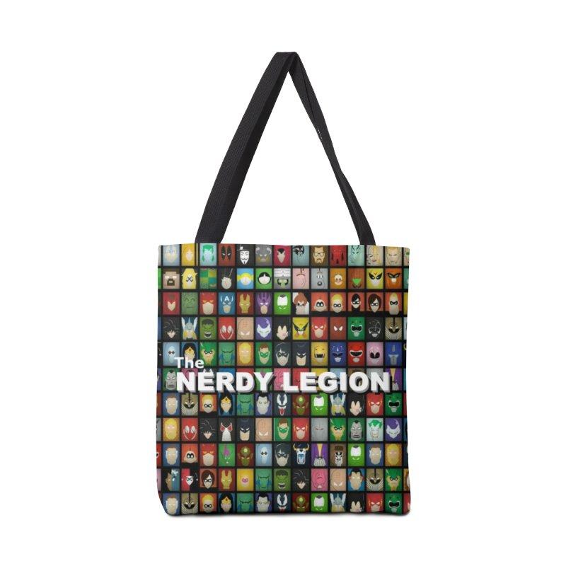Nerdy Legion Accessories Bag by Nerdy Legion Shop
