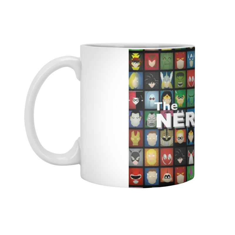 Nerdy Legion Accessories Mug by Nerdy Legion Shop