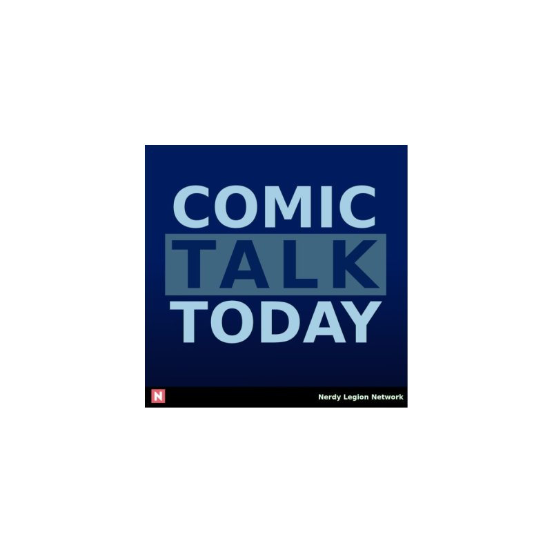Comic Talk Today Men's T-Shirt by Nerdy Legion Shop