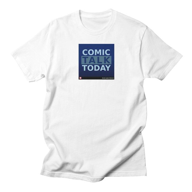 Comic Talk Today Men's Regular T-Shirt by Nerdy Legion Shop