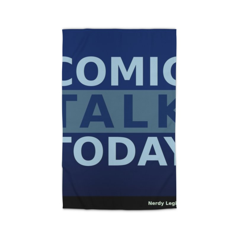 Comic Talk Today Home Rug by Nerdy Legion Shop