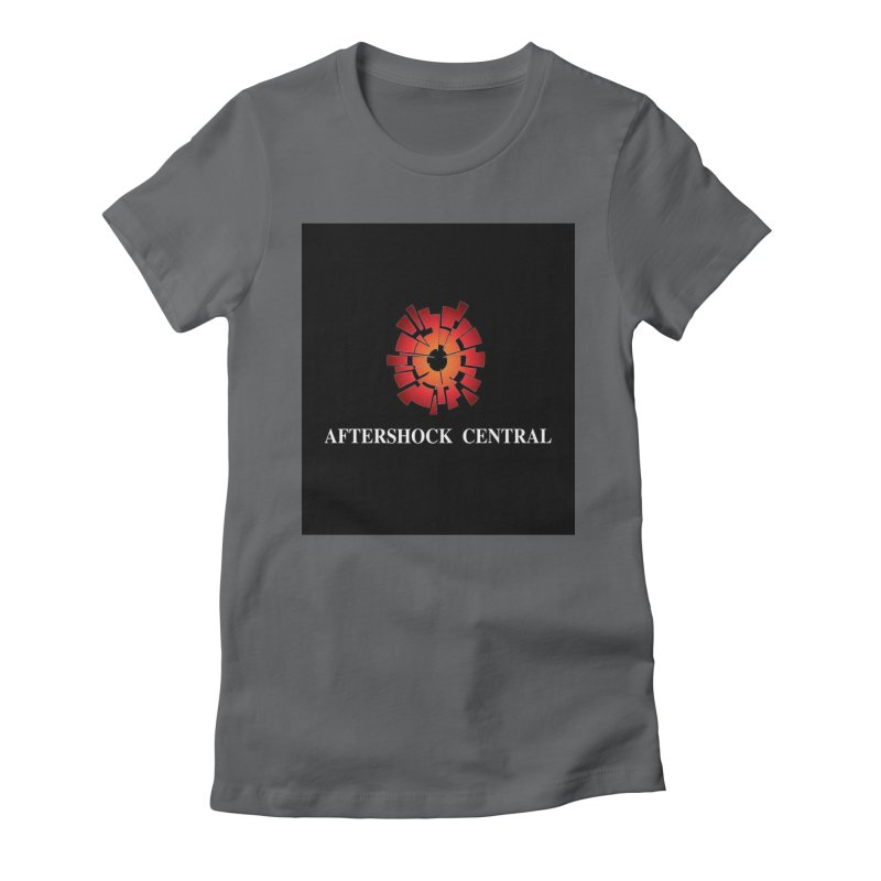 Aftershock Central Women's Fitted T-Shirt by Nerdy Legion Shop