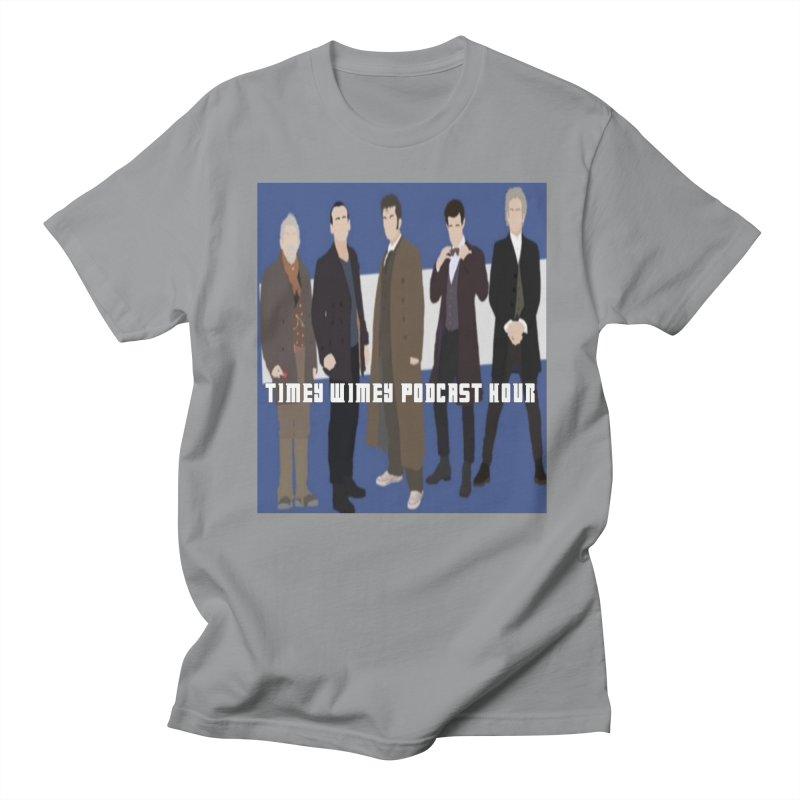 Time Wimey Podcast Hour Men's Regular T-Shirt by Nerdy Legion Shop