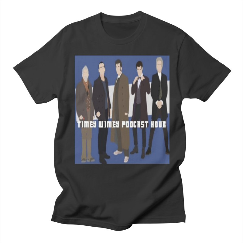 Time Wimey Podcast Hour Men's Regular T-Shirt by Nerdy Legion Shop