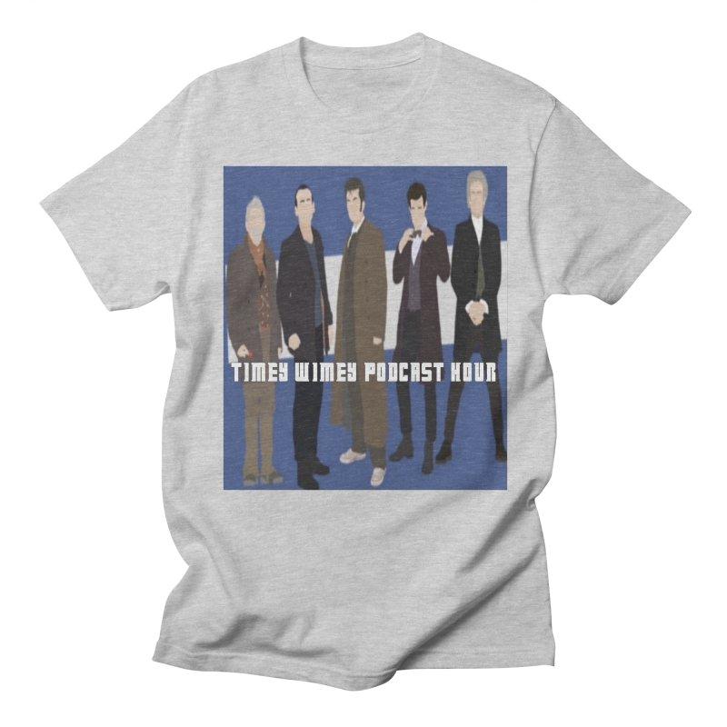Time Wimey Podcast Hour Men's T-Shirt by Nerdy Legion Shop