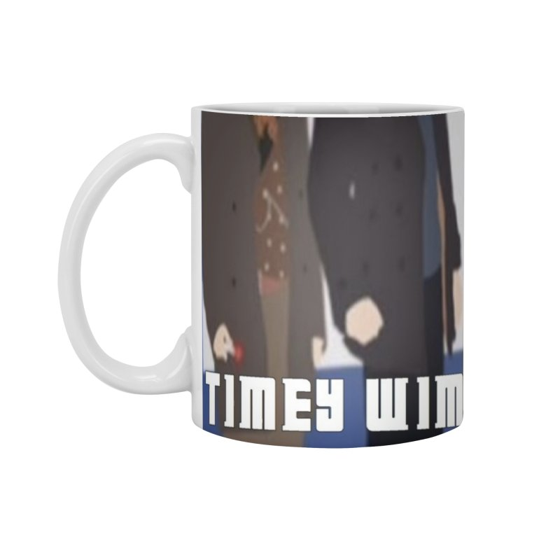 Time Wimey Podcast Hour Accessories Mug by Nerdy Legion Shop