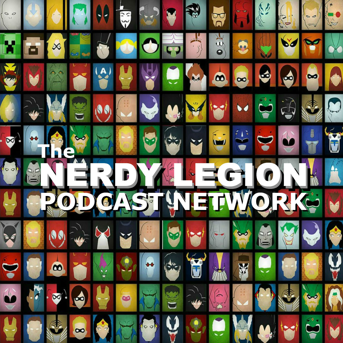 Nerdy Legion Shop Logo