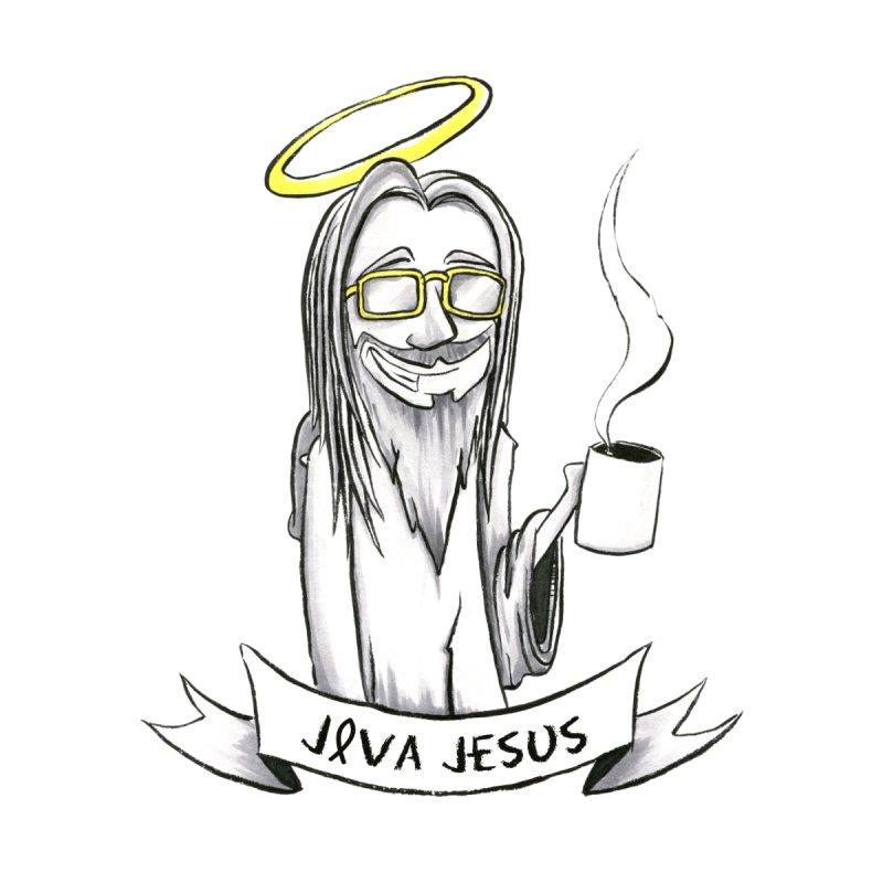 Java Jesus Men's T-Shirt by McGarry Design
