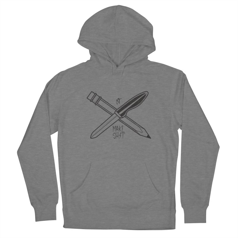 Make Sh!t Men's Pullover Hoody by McGarry Design