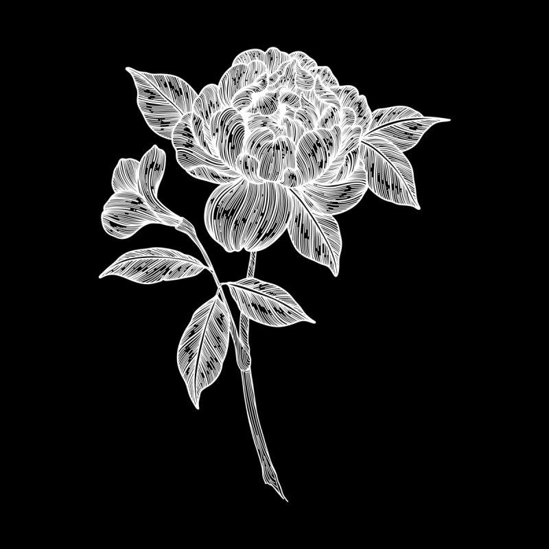 Flower 4 (White) by nestingzone's Artist Shop