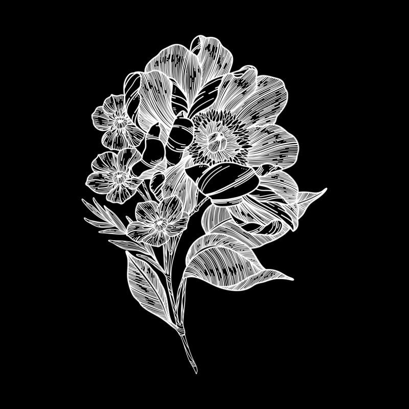 Flower 5 (White) by nestingzone's Artist Shop