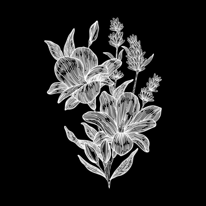 Flower 6 (White) by nestingzone's Artist Shop