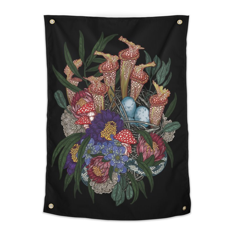 Nest Home Tapestry by nestingzone's Artist Shop