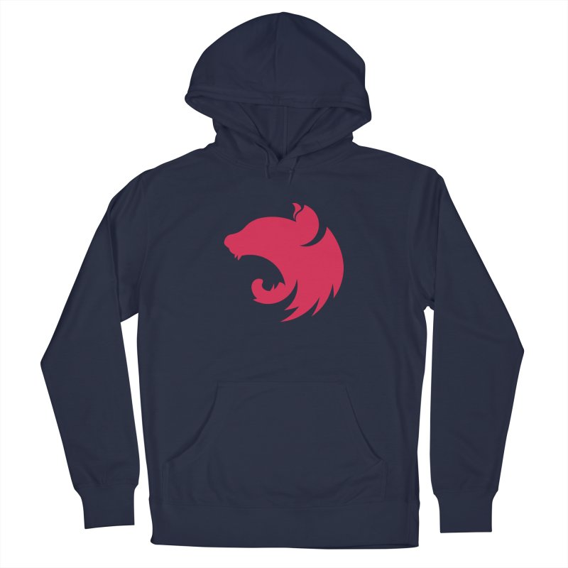 Logo Women's French Terry Pullover Hoody by The NestJS Shop