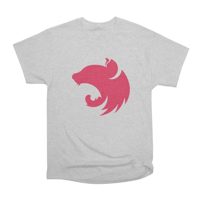 Logo Men's Heavyweight T-Shirt by The NestJS Shop