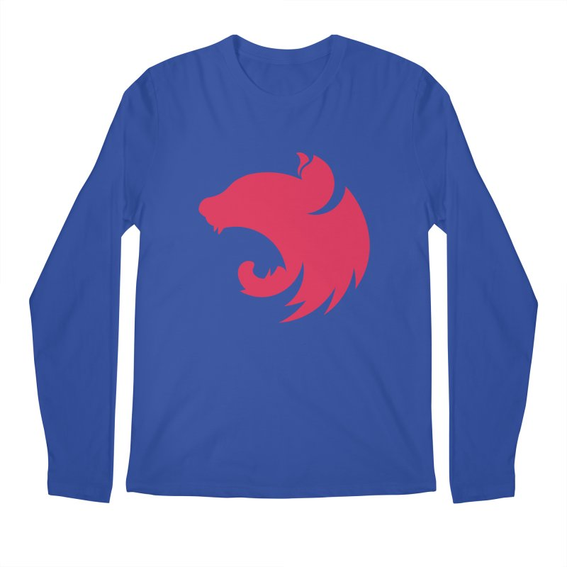 Logo Men's Regular Longsleeve T-Shirt by The NestJS Shop