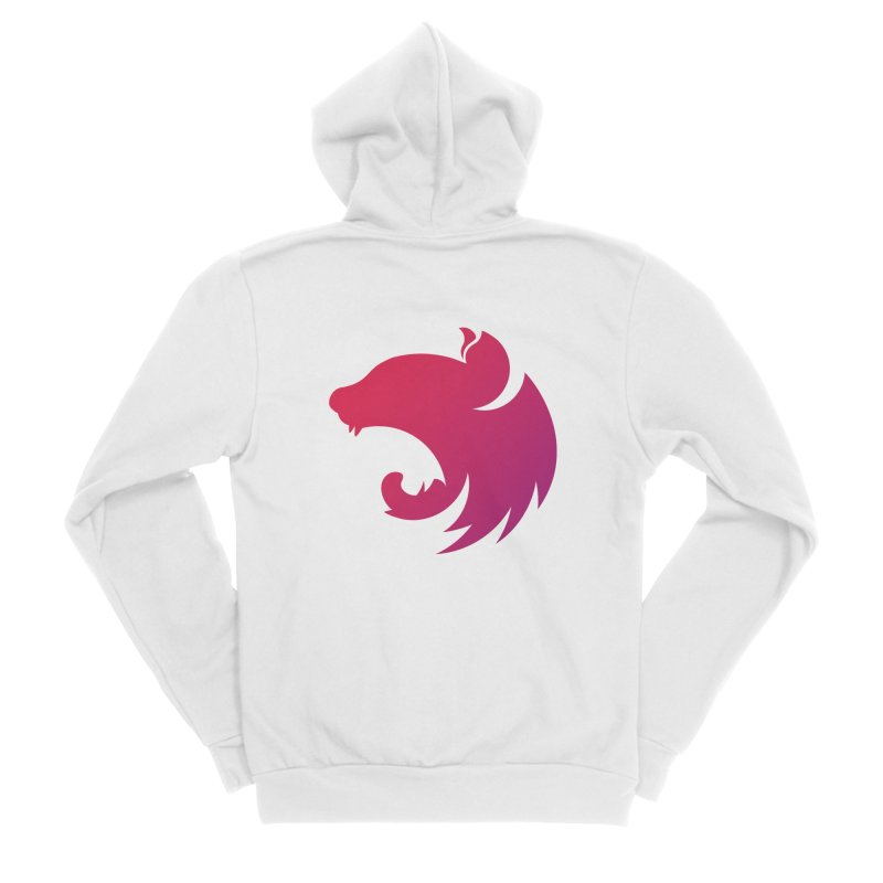 Logo gradient Women's Zip-Up Hoody by The NestJS Shop