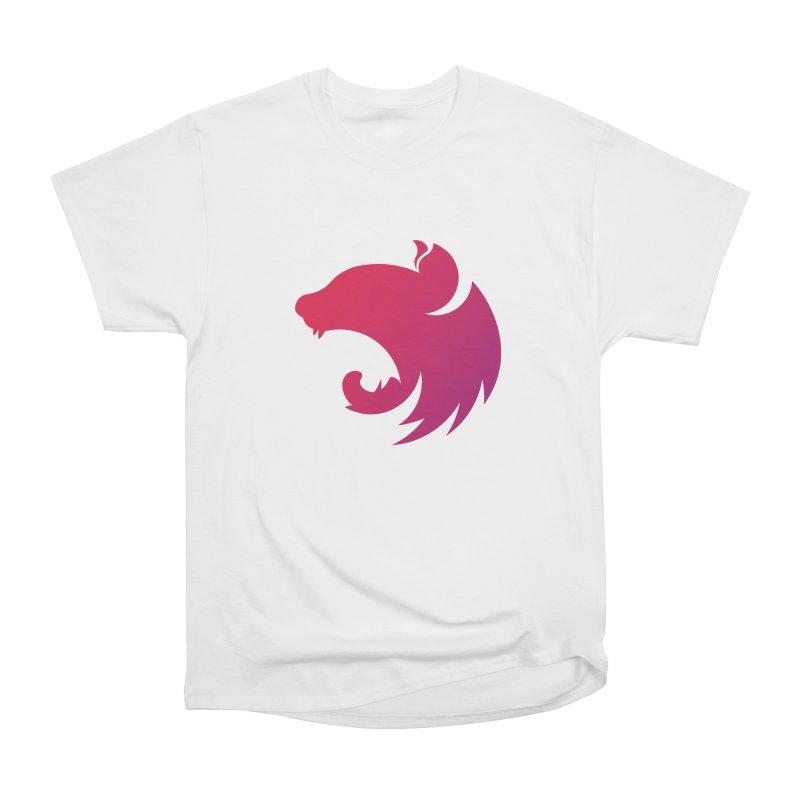 Logo gradient Men's Heavyweight T-Shirt by The NestJS Shop