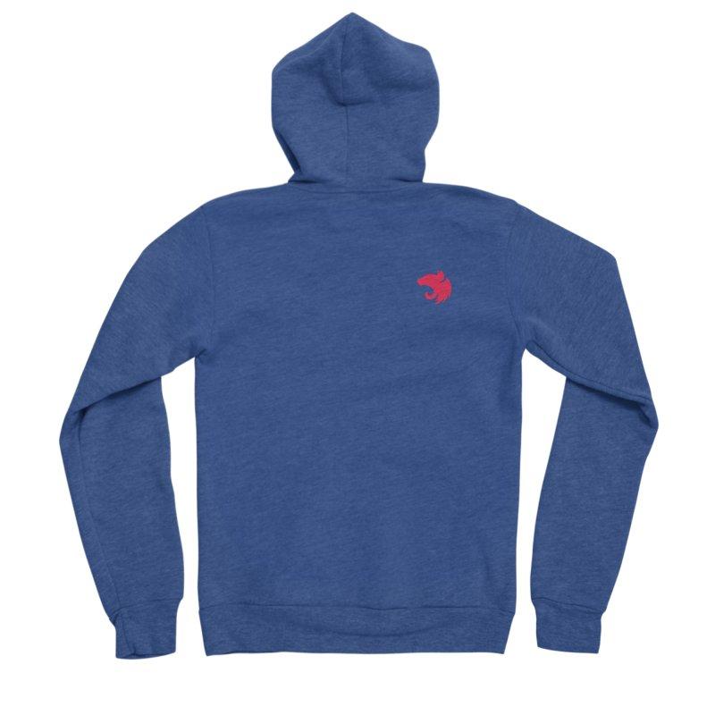 Logo (small) Women's Sponge Fleece Zip-Up Hoody by The NestJS Shop