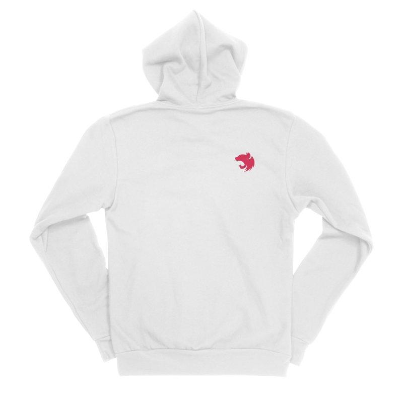Logo (small) Men's Zip-Up Hoody by The NestJS Shop