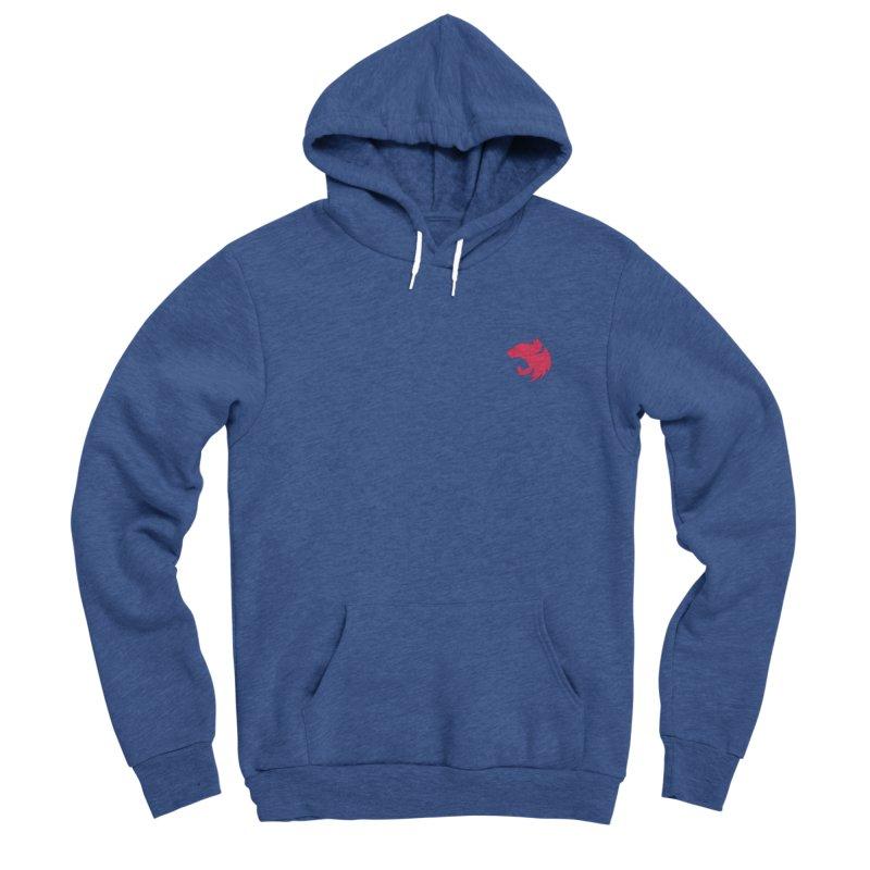 Logo (small) Men's Sponge Fleece Pullover Hoody by The NestJS Shop