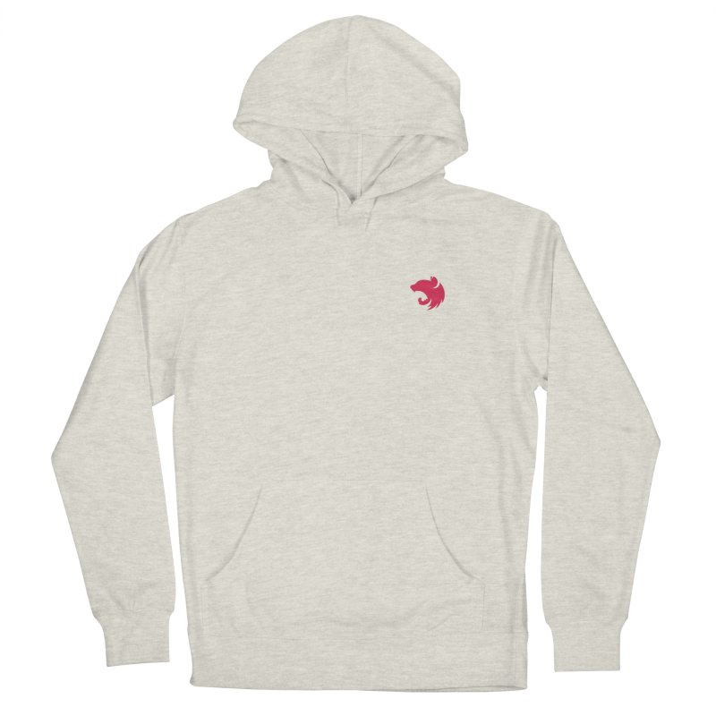Logo (small) Women's French Terry Pullover Hoody by The NestJS Shop