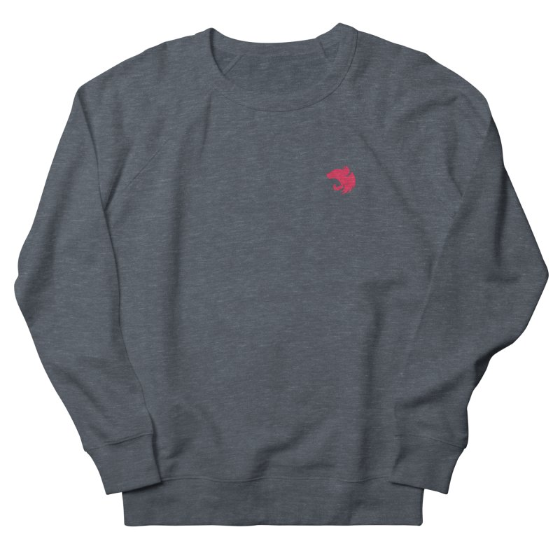 Logo (small) in Women's French Terry Sweatshirt Heather Navy Denim by The NestJS Shop